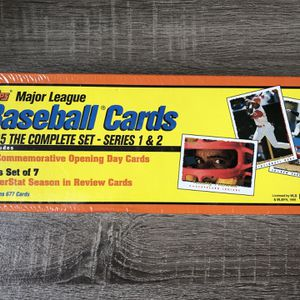 1995 Topps Baseball Card Complete Factory Sealed Set - Series 1 + 2 for Sale in Tampa, FL