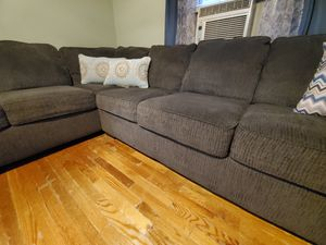 sectional sofa gray for Sale in Springfield, MA