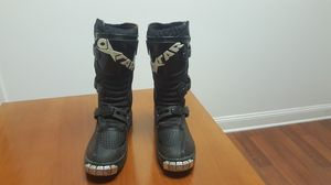 Oxtar Comp motocross boots kids size 3 for Sale in Frederick, MD