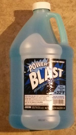 2 x Power Wash Streak Free Windshield Washer Fluid 1 Gallon for Sale in Columbus, OH