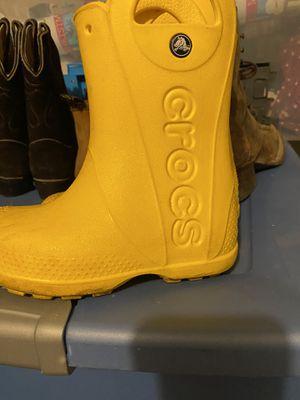 rain boots for Sale in Winfield, IL