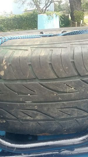 Four 4lug wheels and tires for Sale in Aberdeen, WA