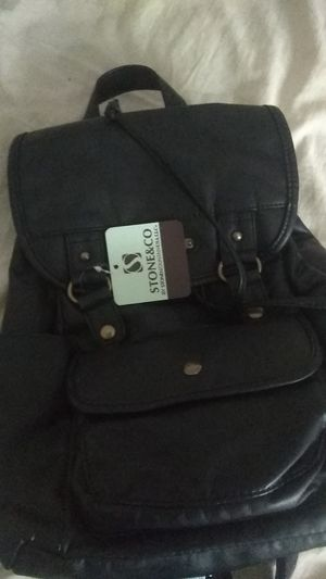 Stone&Co backpack black bag for Sale in Kent, OH