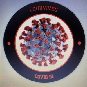 I Survived Covid-19 Sticker for Sale in Bloomfield Hills, MI