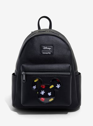 DISNEY LOUNGEFLY MICKEY MOUSE PIN COLLECTOR MINI BACKPACK for Sale in Montebello, CA