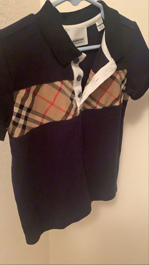 Burberry Vintage Check Polo Shirt for Sale in Orlando, FL