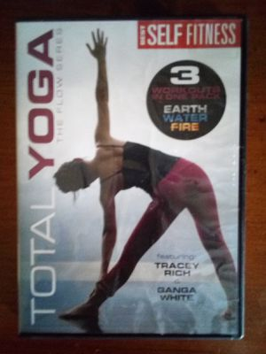 Total yoga dvd for Sale in Waverly, IA