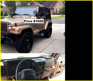 ֆ1OOO_1999 Jeep Wrengler for Sale in Riverside, CA