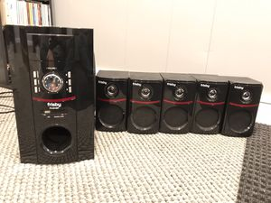 Frisby FS5010BT 5.1 Channel speaker with bluetooth for Sale in Herndon, VA