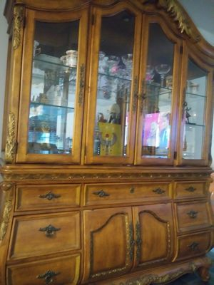Sicilian China Cabinet (2pc.) for Sale in Conway, SC