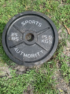35 pounds gym weight for Sale in Hialeah, FL