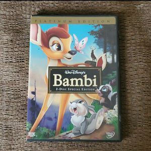 Platinum edition Bambi 2 disc special edition for Sale in Gambrills, MD