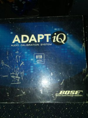 ADAPT iQ. AUDIO CALIBRATION SYTEM. BY. BOSE for Sale in Tempe, AZ