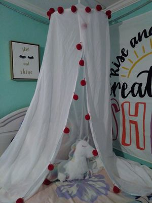 Bed canopy $25 for Sale in Euless, TX