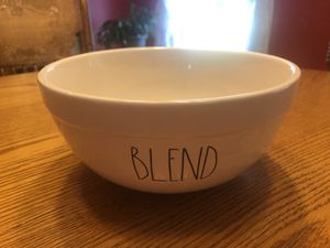 """Rae Dunn """"Blend"""" Mixing Bowl NEW for Sale in Liberty, SC"""
