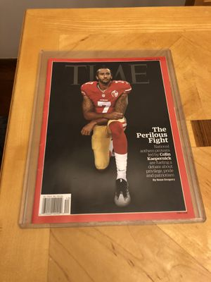 Time Magazine Colin kaepernick 10-3-16 for Sale in Frankfort, IL