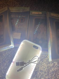 IPhone 6g Light Up Case for Sale in Dallas,  TX