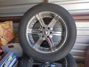 "20"" chrome wheels fits GM suburban Tahoe suburban Escalade yukon Sierra silverado for Sale in Glendale, AZ"