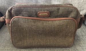 Vintage 80's Samsonite Special Collection Brown Tweed Shoulder Bag Carry-On for Sale in Fresno, CA