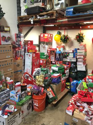 Christmas items/ Christmas light/ornament/decorations half price Home Depot for Sale in Garden Grove, CA