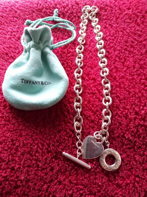 Tiffany chain new condition for Sale in Penn Hills, PA