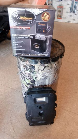 Feeder and camera for Sale in Cordele, GA