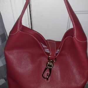LARGE LEATHER HOBO TYPE BAG BY DOONEY & BOURKE for Sale in League City, TX
