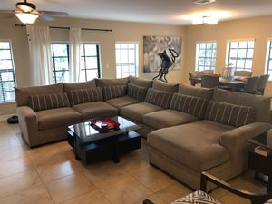 Large four piece sectional couch for Sale in Fort Lauderdale, FL
