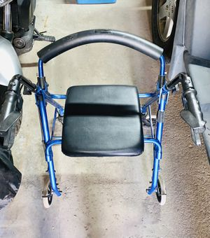 Walker with a seat for Sale in Denver, CO
