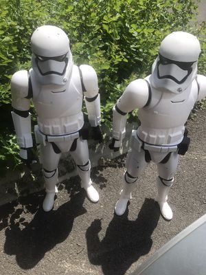 "2015 Star Wars Stormtrooper Big Figs 18"" Action Figures for Sale in Columbus, OH"