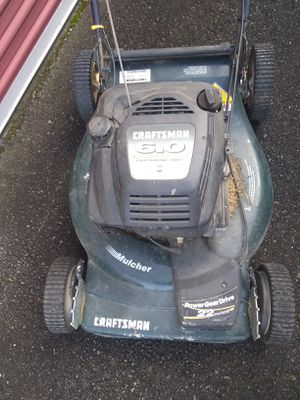 Craftsman lawn mower BEEN GONE GOOD for Sale in Chelan, WA