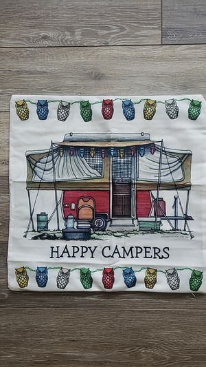 Accent pillow cover , pop up campers for Sale in Murrieta, CA