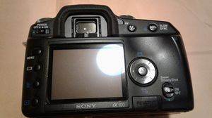 SONY DIGITAL CAMERA A100 NO LENS for Sale in Forest Heights, MD