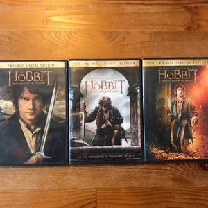 The Hobbit Trilogy DVD Set for Sale in Pittsburgh, PA