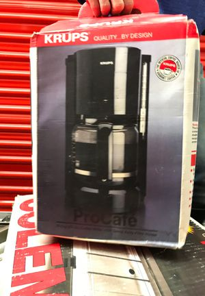 Krups Coffee maker and pot brand new never used for Sale in Las Vegas, NV