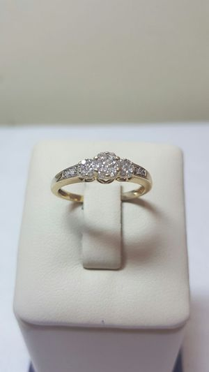 14k yellow gold diamond ring for Sale in Philadelphia, PA