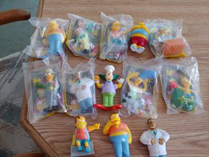 THE SIMPSONS MOVIE BURGER KING TOYS for Sale in Toms River, NJ
