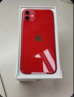 Unlocked IPhone 11 Code Red ( Finance Available) for Sale in Fontana, CA
