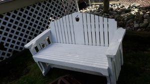 All wood swing bench very beautiful and heavy duty for Sale in Lake Stevens, WA