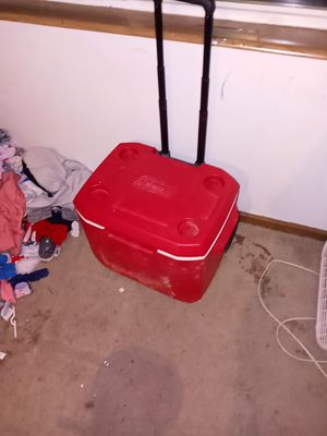 Coleman cooler for Sale in Council Bluffs, IA
