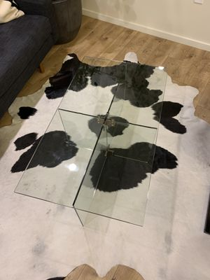 Cosima glass coffee table for Sale in Redwood City, CA