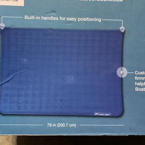 Lightspeed Outdoors 2 Person PVC-Free Air Bed Mattress for Camping and Travel for Sale in Aptos, CA