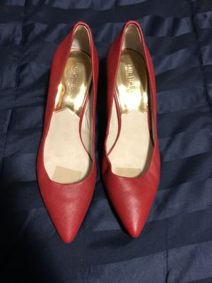 Michael Kors All Red Pointed Toe Pumps Size 10 for Sale in Atlanta, GA