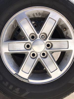 "GMC 17"" stocks and Firestone tires for Sale in Dinuba, CA"