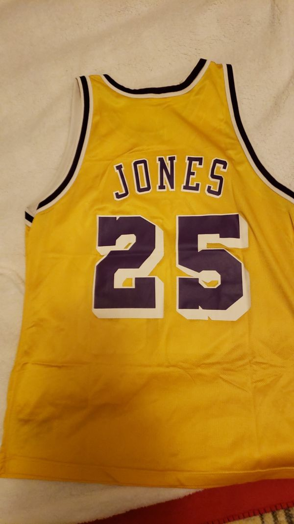 369d33aa522 Lakers Jersey ( JONES ) on the line.. Great condition.. Car is broke got to  get fixed .. Yr gain for  65.00 best.. Serious Only.
