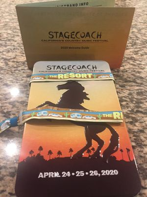 STAGECOACH RV WRISTBAND!!!!! for Sale in Rancho Cucamonga, CA