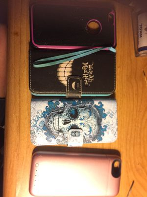 Lot 4 IPhone 6s cases including a morphie for Sale in Hannibal, MO