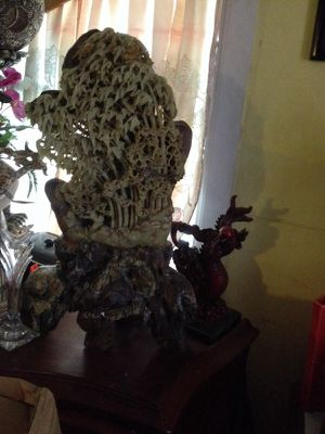Chinese antique hand carved soapstone for Sale in Jacksonville, FL