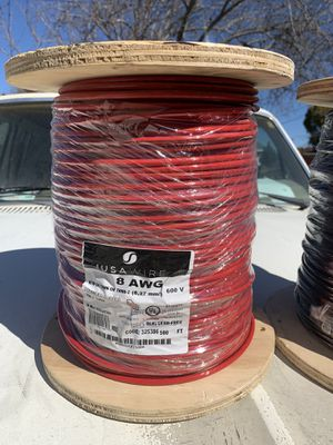 8 awg 600v wire 500ft for Sale in Newark, CA