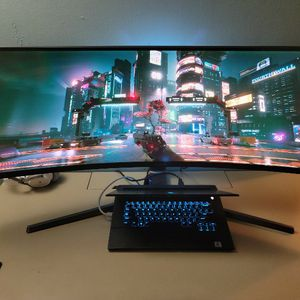 """Curved Gaming Monitor 49"""" for Sale in Jacksonville, FL"""